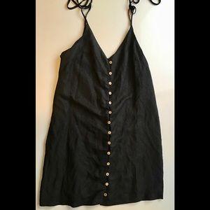 Forever 21 black mini dress size medium